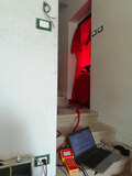 Blower Door Test CasaClima A Almese